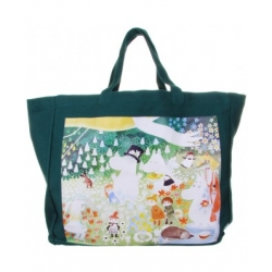 Moomin Dangerous Journey Shopper Bag by Disaster Designs