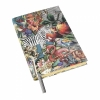 Wanderlust zebra A5 travel journal/ notebook by Wild and Wolf