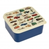 Vintage Vehicles Retro Lunch Box