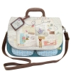 Bon Voyage large satchel by Disaster Designs