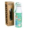 Moomins green patterned thermos flask by Disaster Designs