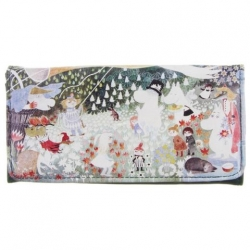 Moomin Dangerous Journey ladies wallet/purse