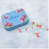 English Rose floral plasters in a tin