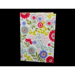 Gisela Graham Floral Song PVC Passport Holder