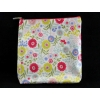 Gisela Graham Floral Song PVC Tall Wash Bag/Make up Pouch