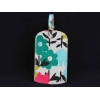 Gisela Graham Tulips Luggage Tag
