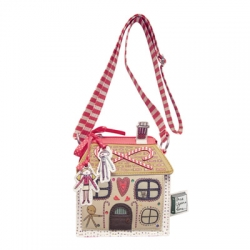 Once upon a time Hansel and Gretel gingerbread mini shoulder bag by Disaster Designs