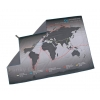 Lifeventure Soft Fibre Trek Towel – World Map Explorers Grey