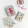 "Travel playing cards in tin ""Little Red Riding Hood"""