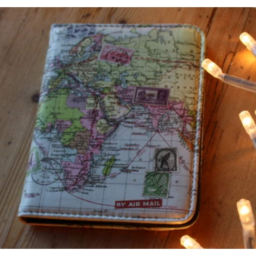 World Map Passport Holder.World Map Passport Cover By Wild And Wolf