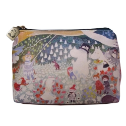 Moomins Dangerous Journey green make-up purse