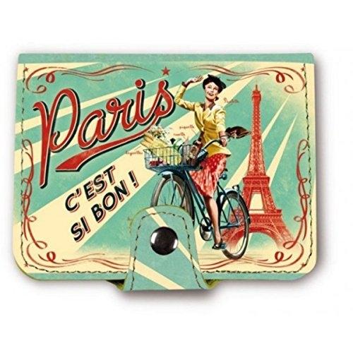 Natives comptoir de famille french 1950s vintage retro multi pocket travel credit card wallet - Comptoir de famille paris ...