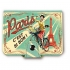 Natives (Comptoir de Famille) French 1950s vintage retro multi pocket travel credit card wallet
