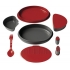 Primus 8 piece meal set - red