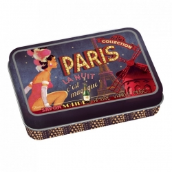"Natives French ""Paris la nuit"" travel soap in tin"
