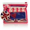 Union Jack Heart travel nail care kit for hands and feet