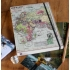 World map A5 travel journal by Wilf and Wolf - lined paper